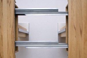 Esstisch ausziehbar mit Kulissenzug