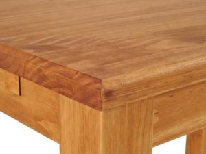 Esstisch Massivholz im Detail